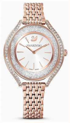 Swarovski | mulheres | aura cristalina | pulseira em ouro rosa | 5519459