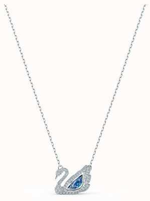 Swarovski | cisne dançante | colar de cristal azul | 5533397