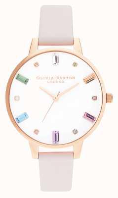 Olivia Burton | mulheres | flor do arco-íris | ouro rosa | OB16RB22