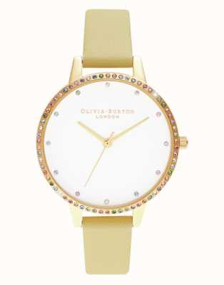 Olivia Burton | mulheres | moldura do arco-íris | pulseira sol e ouro | OB16RB20