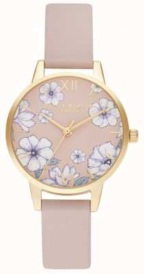 Olivia Burton Groovy blooms eco candy pink & gold OB16AN04