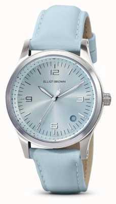 Elliot Brown | mulheres | kimmeridge | mostrador aqua sunray | pulseira aqua | 405-015-L61