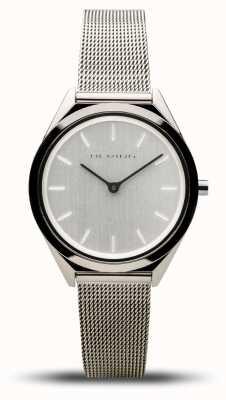 Bering | unissex | ultrafino | pulseira de malha de prata | 17031-000