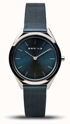 Bering | unissex | ultrafino | pulseira de malha marinha | 17031-307