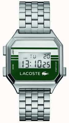 Lacoste Berlim display digital | pulseira de aço inoxidável 2020137