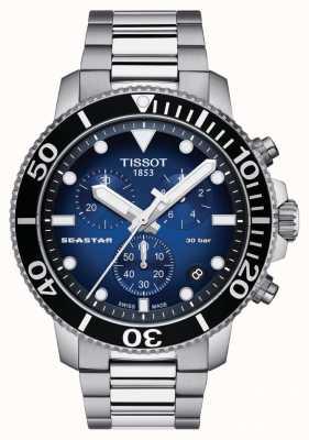 Tissot Seastar 30 bar 1000 chrongraph para homem T1204171104101