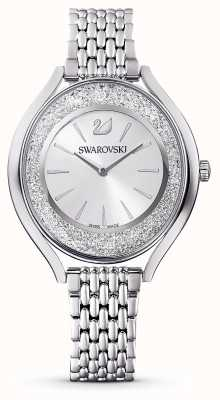 Swarovski Aura cristalina | pulseira de metal em aço inoxidável | prata 5519462