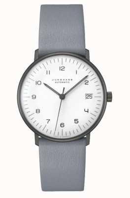 Junghans Max bill vidro de safira automático | 38mm preto e branco 027/4007.02