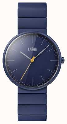Braun Masculino | clássico | pulseira de cerâmica azul | mostrador azul BN0171NVNVG