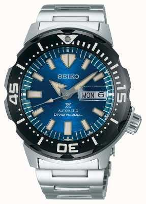 Seiko Prospex senhores mecânicos | salvar o oceano | mostrador azul SRPE09K1