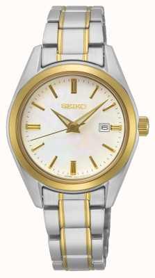Seiko Bracelete conceitual de quartzo para senhoras SUR636P1