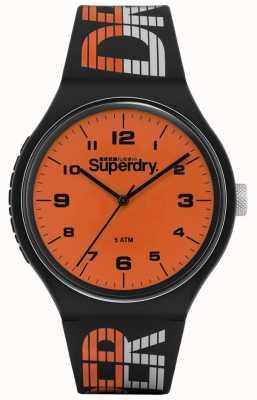 Superdry | corridas urbanas xl | silicone multicolorido azul | di laranja SYG269BO