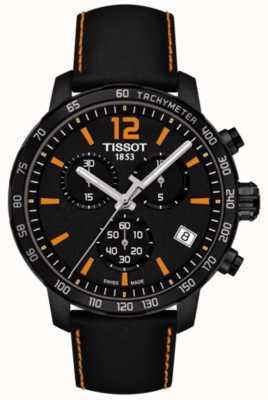 Tissot T-sport quickster cronógrafo preto e laranja T0954173605700