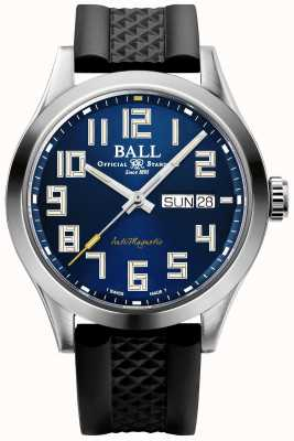 Ball Watch Company Engineer iii starlight | pulseira de borracha preta | mostrador azul | NM2182C-P12-BE1