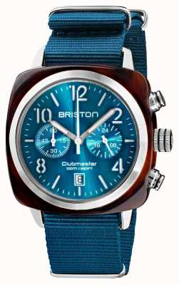 Briston Clubmaster clássico | cronógrafo | 19140.SA.T.31.NBD