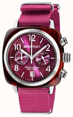Briston Clubmaster clássico | cronógrafo | 19140.SA.T.32.NC