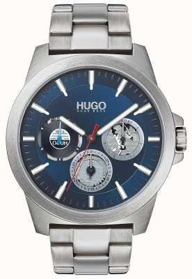 HUGO #twist | pulseira de aço inoxidável | mostrador azul 1530131