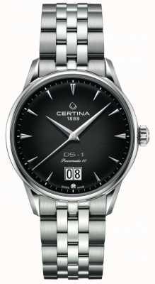 Certina Ds-1 grande encontro | powermatic 80 | pulseira de aço inoxidável C0294261105100