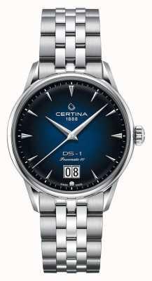 Certina Ds-1 grande encontro | powermatic 80 | pulseira de aço inoxidável C0294261104100