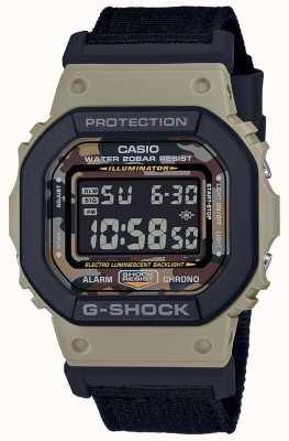 Casio G-shock | pulseira preta | digital | cronômetro DW-5610SUS-5ER