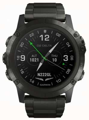 Garmin D2 delta px aviator | pulseira de titânio dlc 010-01989-31