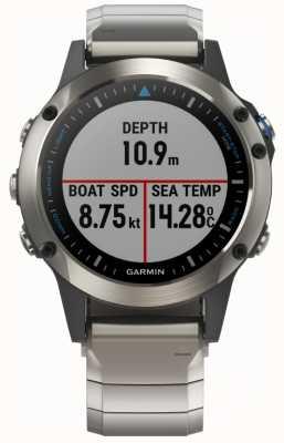 Garmin Quatix 5 safira | smartwatch marinho 010-01688-42