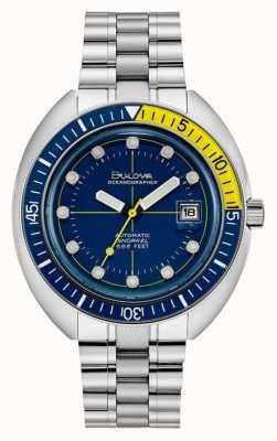 Bulova Mergulhador oceanógrafo dos anos 70 96B320