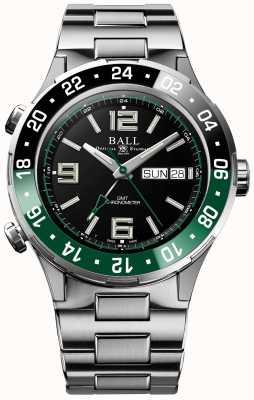 Ball Watch Company Roadmaster marine gmt edição limitada DG3030B-S2C-BK