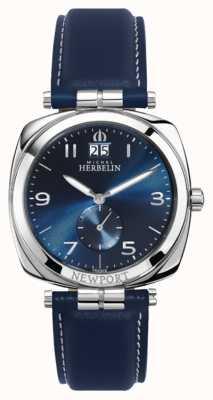 Michel Herbelin Newport mostrador azul unissex / pulseira 18264/AP15BL