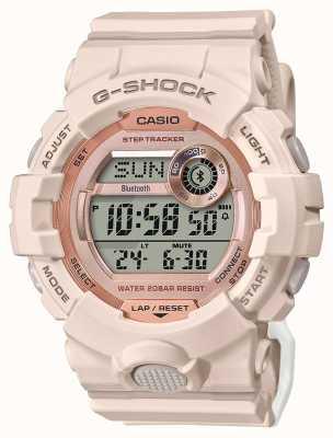 Casio G-shock esquadrão g   pulseira de borracha rosa   Bluetooth GMD-B800-4ER