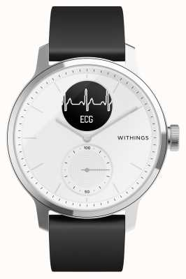 Withings Scanwatch 38 mm branco - smartwatch híbrido com ecg HWA09-MODEL 1-ALL-INT