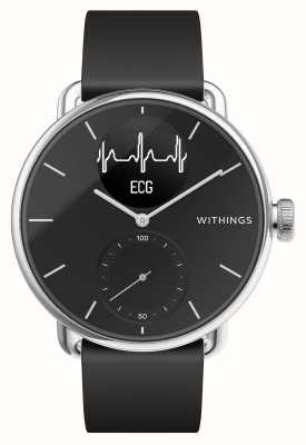 Withings Scanwatch 38 mm preto - smartwatch híbrido com ecg HWA09-MODEL 2-ALL-INT