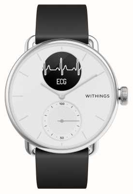 Withings Scanwatch 42 mm branco - smartwatch híbrido com ecg HWA09-MODEL 3-ALL-INT