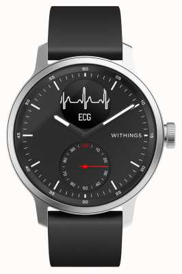 Withings Scanwatch 42 mm preto - smartwatch híbrido com ecg HWA09-MODEL 4-ALL-INT