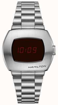 Hamilton Psr pulseira de aço inoxidável H52414130
