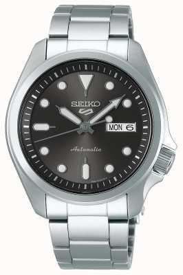 Seiko 5 esportes | automático | pulseira de aço inoxidável | mostrador cinza SRPE51K1