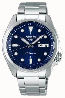 Seiko 5 esportes | relógio automático | mostrador azul | pulseira de aço inoxidável SRPE53K1