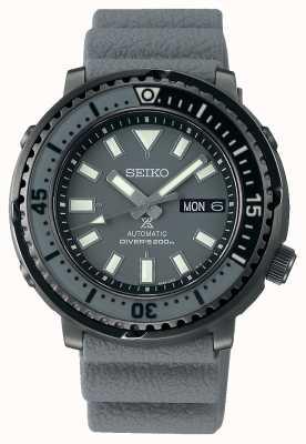 Seiko Rua Prospex | automático | pulseira de silicone cinza SRPE31K1