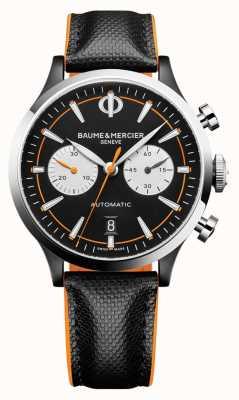 Baume & Mercier Capeland | homem | automático | couro preto | mostrador preto M0A10451