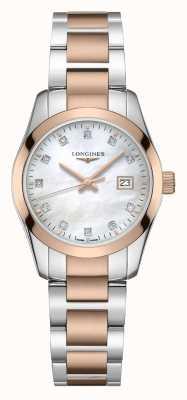 Longines Conquest classic | mulheres | quartzo suíço | dois tons L22863877