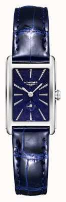 Longines Dolce vita | mulheres | quartzo suíço | couro azul L52554932