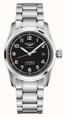 Longines Spirit | homens | suíço automático | pulseira de aço inoxidável L38104539