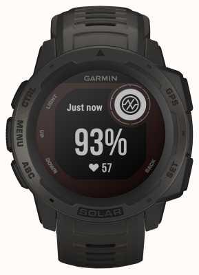 Garmin Correia de borracha de grafite solar para GPS instinto 010-02293-00
