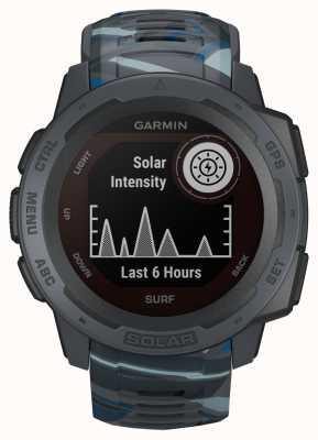 Garmin Bracelete em borracha instinct solar gps surf edition pipeline 010-02293-07