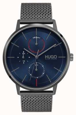 HUGO #exist business | mostrador azul | cinta de malha ip cinza 1530171