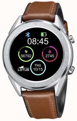 Lotus Smartime | homens | pulseira de couro marrom + pulseira grátis L50008/1