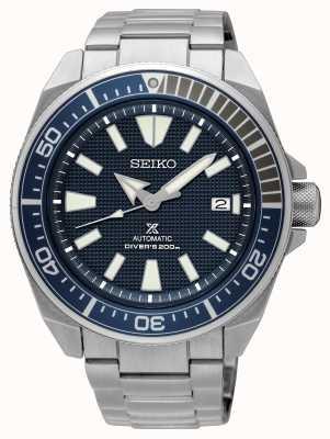 Seiko Prospex | mergulhadores automáticos 200m | mostrador azul de aço inoxidável SRPF01K1