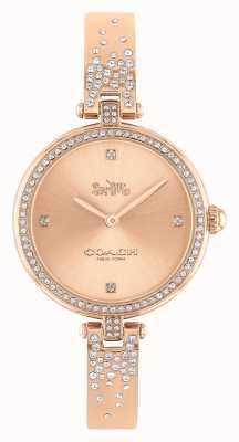 Coach | mulheres | parque | pulseira de aço inoxidável em ouro rosa | 14503651