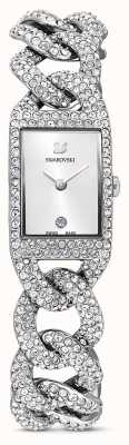 Swarovski | relógio de cocktail | conjunto de cristal | pulseira de aço inoxidável | 5547617