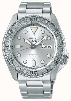 Seiko Homens | automático | prata | esportes | pulseira SRPE71K1